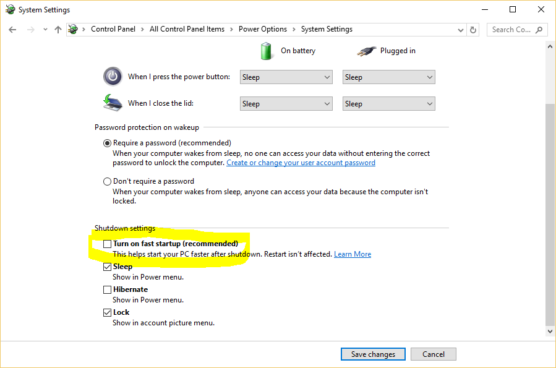Windows 10 Control Center