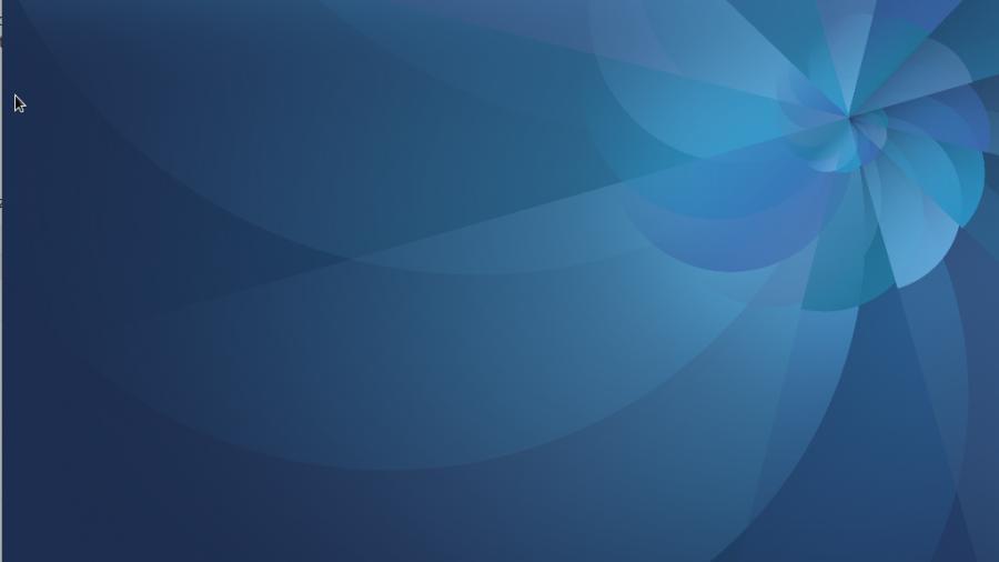 Fedora 25 GNOME desktop