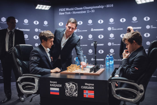Analyze 2016 World Chess Championship