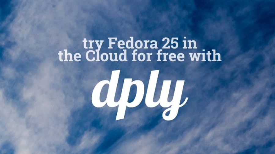 Fedora 25 on Dply cloud