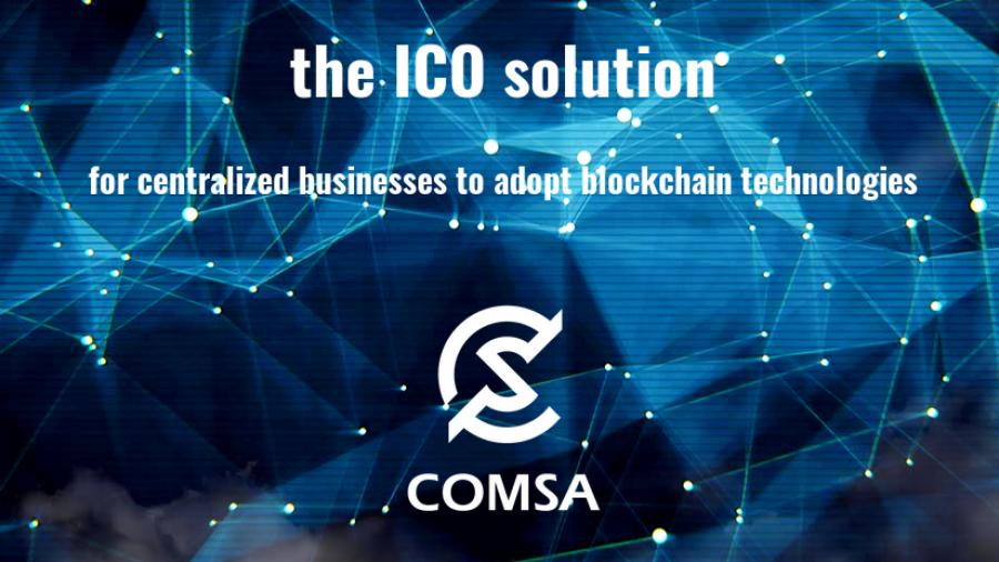 COMSA ICO token