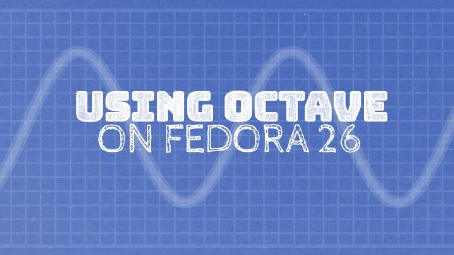 Octave Fedora 26