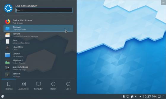 Kubuntu desktop